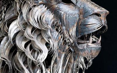 Les sculptures en métal : un art du recyclage créatif